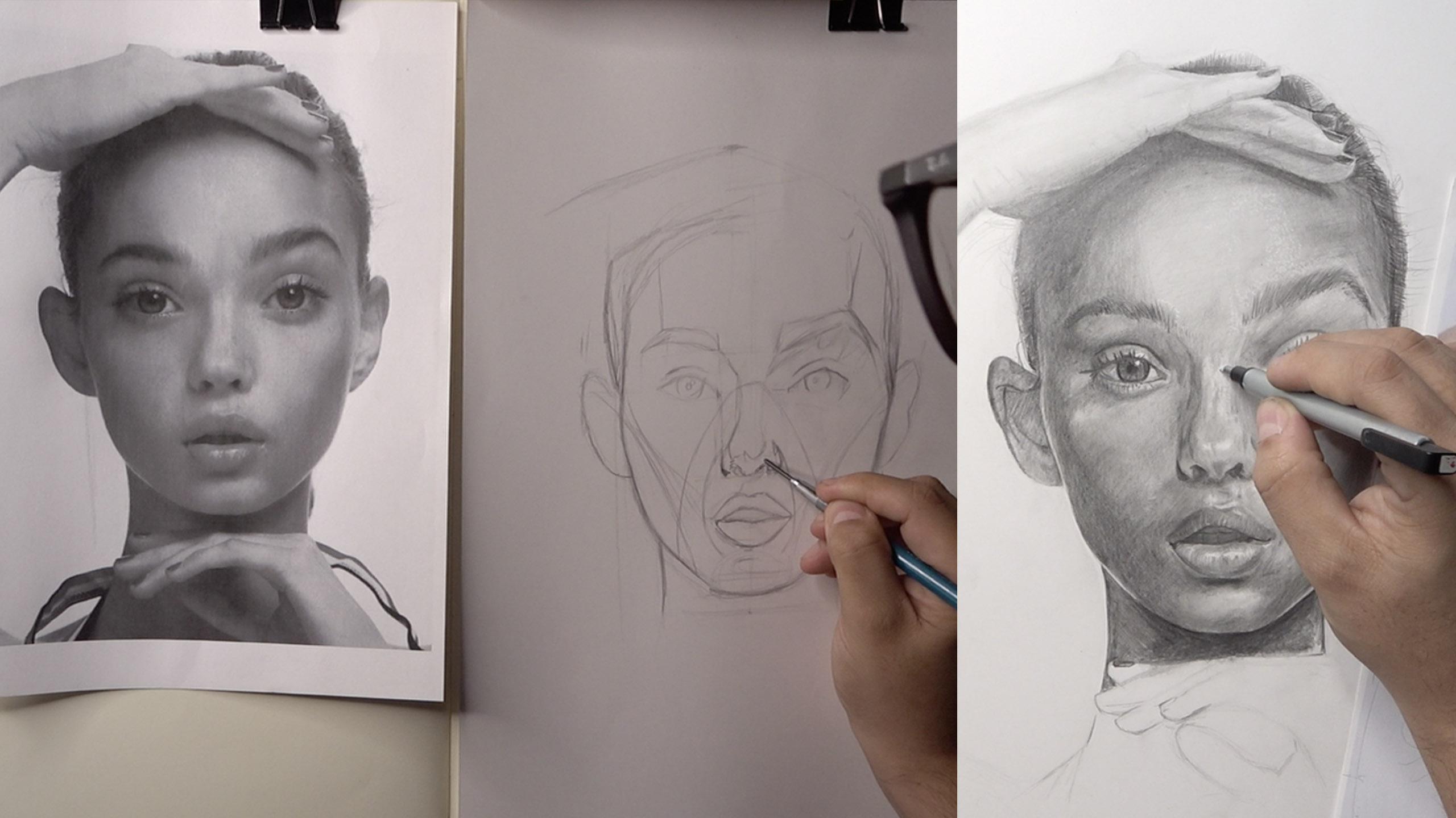 Cómo lograr el parecido en el retratos