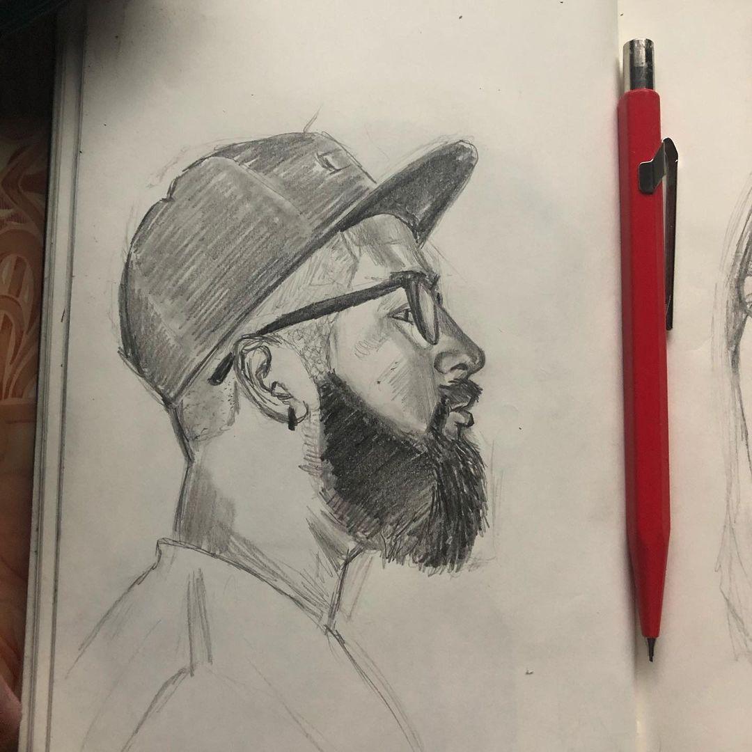 Dibujando a un amigo