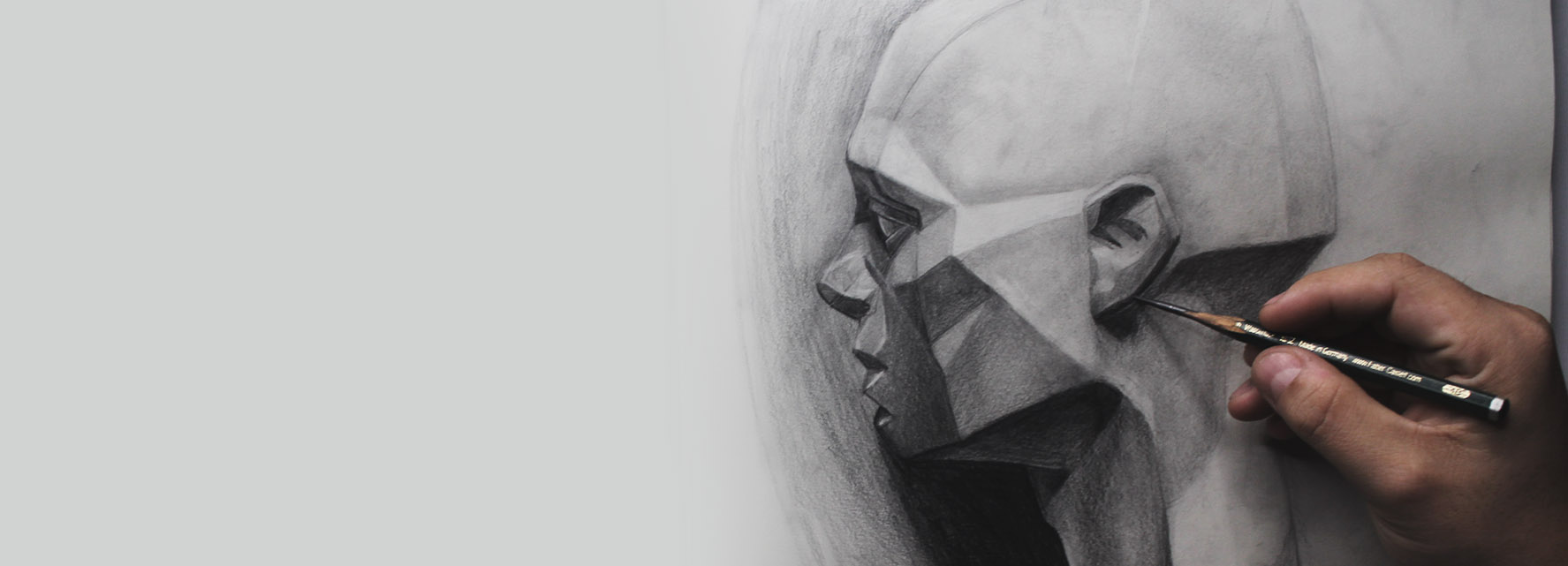 Aprende a dibujar retratos realistas de cero a profesional