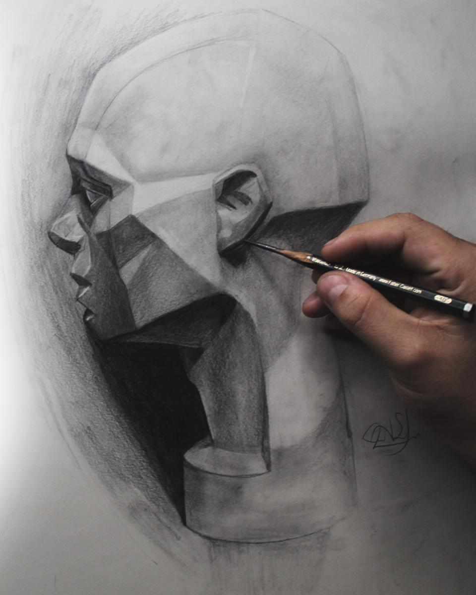 Aprende a dibujar abraham Serey móvil
